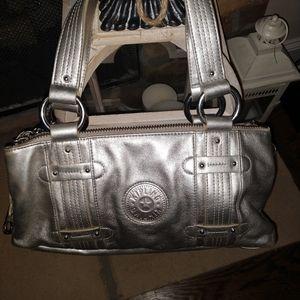 Silver Kipling purse